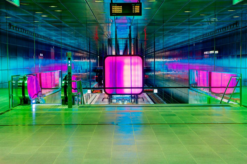 U4 BahnhofsEingang Hafencity/Universität
